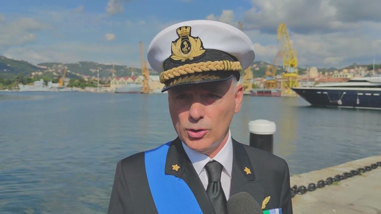 """Ammiraglio Ribuffo: """"Tra Roma e La Spezia un rapporto di collaborazione in cui credo fermamente"""""""