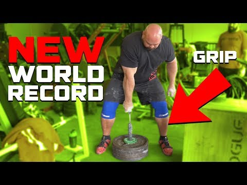 EXTREME GRIP | NEW LITTLE BIG HORN RECORD 238LBS | BRIAN SHAW