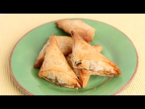 Indian Inspired Samosa Recipe – Laura Vitale – Laura in the Kitchen Episode 808