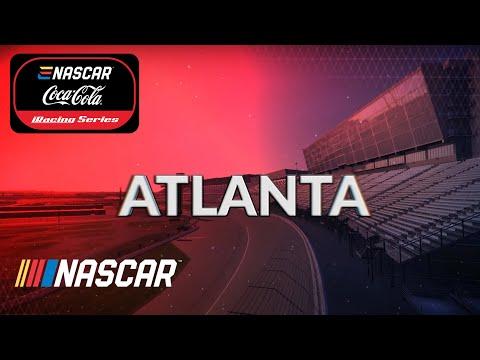 ENASCAR iRacingシリーズ第4戦 アトランタモータースピードウェイ レースライブ配信