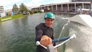 preview picture of video 'Wakeboard auf der Interboot 2013'