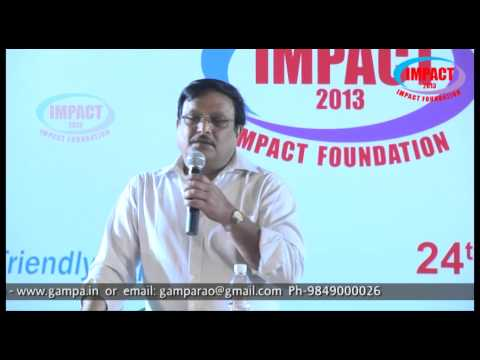 How to Success in Interviews|TELUGU IMPACT Hyd Dec 2013