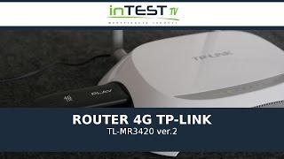 TP-LINK 300 MBIT/S UMTS/HSPA - TL-MR3420 - Recenzja - Test - PL - Polska - inTest