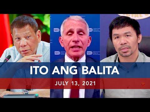 [UNTV]  UNTV: ITO ANG BALITA | July 13, 2021