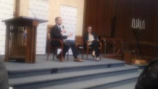 Ralph Northam Q&A at Temple Rodef Shalom (5/21/17)