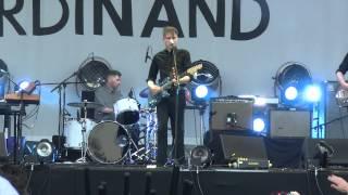 Franz Ferdinand - Evil Eye (live) @ Sziget Festival 2013, Budapest, 11.08.2013