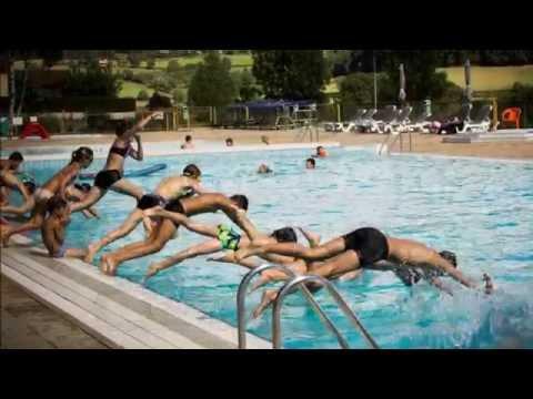La piscine de Matour et ses animations