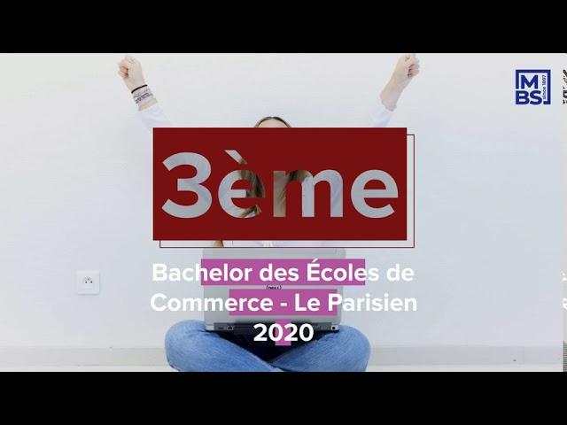 Présentation du Bachelor MBS pour la rentrée 2021 – 2022