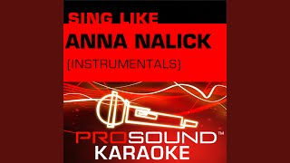 Breathe (2 A.M.) (Karaoke Instrumental Track) (In The Style Of Anna Nalick)
