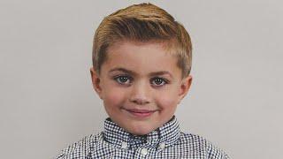 Boy's Haircut - How To Cut A Traditional Side Part Boy's Haircut