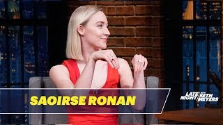 Saoirse Ronan Formed a Renaissance Version of the Spice Girls