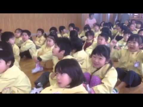 2013年度片岡中央保育園お別れ遠足;たこ焼き