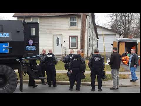 Video: Meth lab on Cline Street