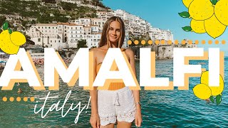 A Tour of Amalfi, Italy! DON'T make this BIG mistake! | Travel Vlog | Italy's Amalfi Coast