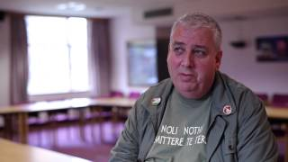 preview picture of video 'Wrexham TV interviews Arfon Jones on Fracking'