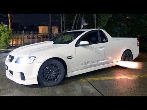 America Loves Australia's Modded V8 Utes
