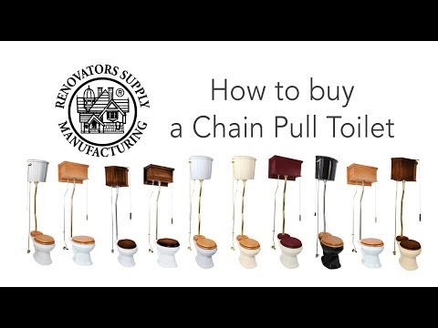 Pull Chain Toilet High Tank Toilet Renovator S Supply