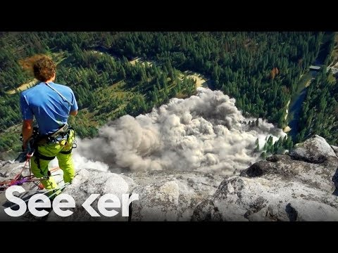Seeker:  Why Do Giant Rocks Suddenly Fall From Cliffs?