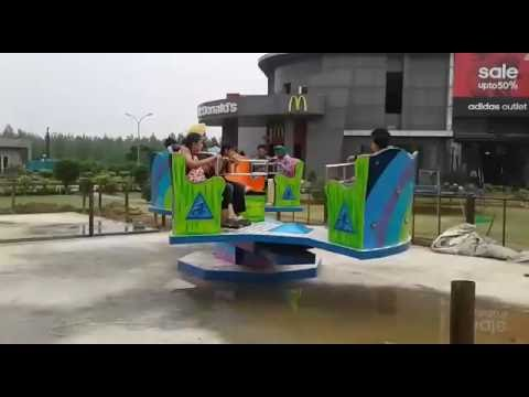Crazy Raft Amusement Ride