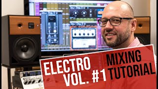 UAD Mixing Tutorial: Fix My Mix - Electro Musik, Teil 1 | german/deutsch | Sound & Recording