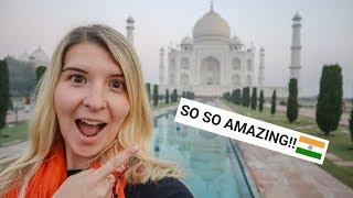 I MADE IT! THE TAJ MAHAL IS SO AMAZING! | Taj Mahal Vlog!