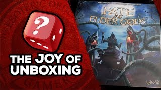 The Joy Of Unboxing: Fate Of The Elder Gods