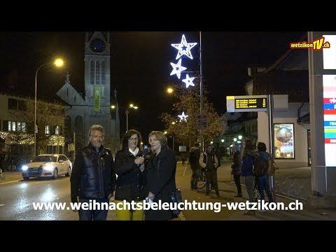 Weihnachtsbeleuchtung Wetzikon 2018