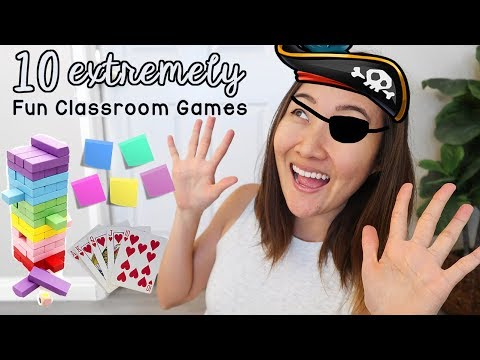 More Fun Classroom Games and Activities For Your Class - YouTube