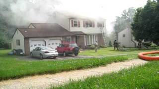 Marchwood House Fire 5/29/2010