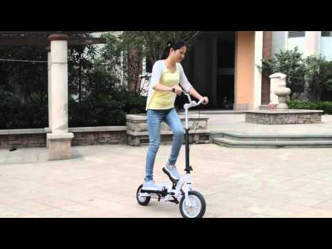 ZZMERCK Pedal Scooter Stepper Bike