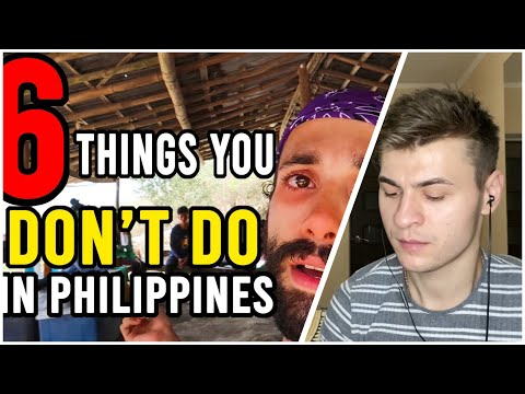 6 THINGS you SHOULDN'T DO in the PHILIPPINES 2019 (You NEED WATCH This)