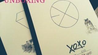 """(Unboxing) EXO - """"XOXO"""" (Kiss & Hug)"""