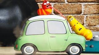 LARVA - TINY SPEED CAR | Cartoon Movie | Cartoons For Children | Larva Cartoon | LARVA Official