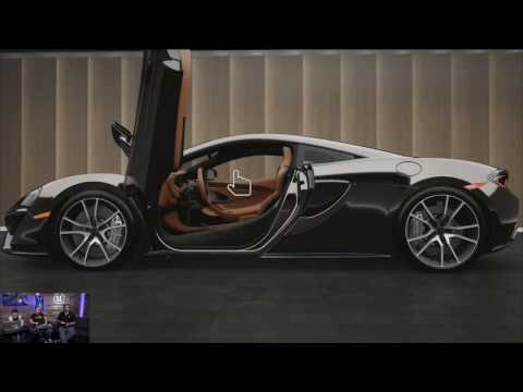 The Making of the McLaren Car Configurator split Part 1
