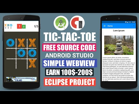 Tic Tac Toe Game Source Code || Webview App || FREE Android Studio Project  Code - Tech ARK
