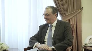 Zohrab Mnatsakanyan received the OSCE Representative on Freedom of the Media
