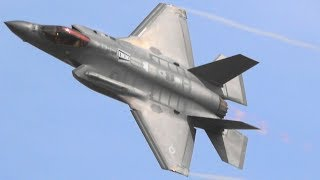 F 35 DEMO TEAM Full Aerial Demonstration Practice At Luke AFB Feb.25 2019