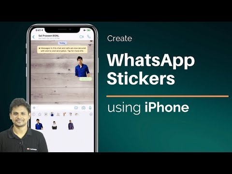 How to Create WhatsApp Stickers using iPhone/iPad?