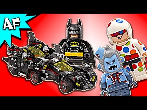 Vidéo LEGO The Batman Movie 70917 : La Batmobile suprême