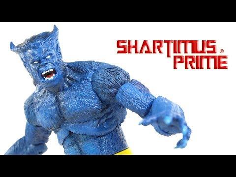 Marvel Select Beast Diamond Select Toys X-Men Comics Action Figure Toy Review