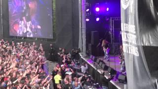 Sabaton - 1. Carolus Rex - Live @AlpenFlair, Natz (It), 20.06.2015