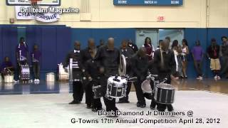 Black Diamond Junior Drummers @ G-Towns 17th Annual Drillteam and Drum Competition