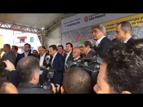 Doria e Alckmin Fogem da Coletiva na Cracolândia