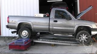 737.4 RWHP and 1489 Ft. Lbs 2006 LBZ Duramax EFI 4094 turbo 45% over injectors