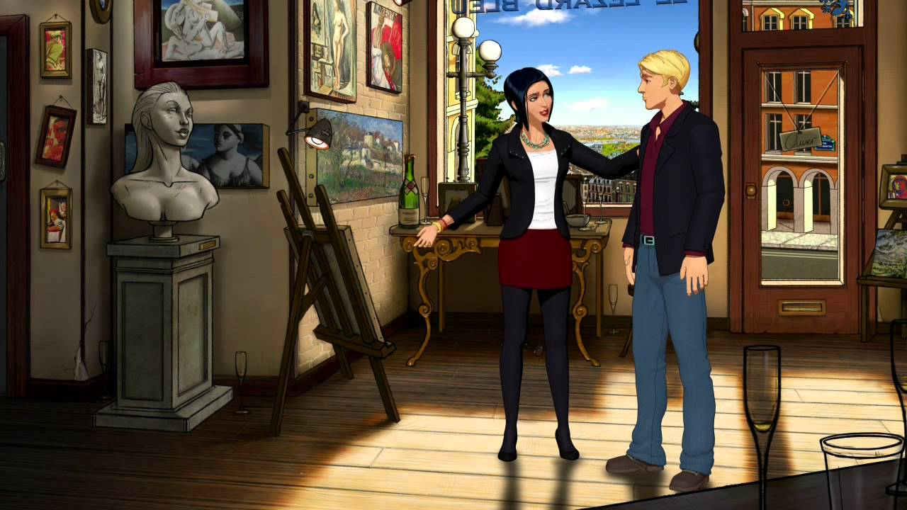 The Creator (And Cast) Of Broken Sword Would Like A Word With You