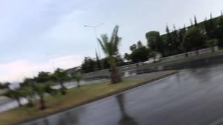 Дождливый день в Турции, идём в супермаркет MIGROS!