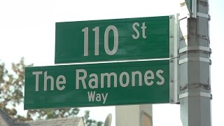 """Watch the """"Ramones Way"""" naming ceremony in its entirety"""