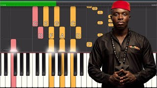 Fuse ODG   Lazy Day Ft Danny Ocean (Piano Tutorial)