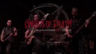 """Angels of Death (I.E. SLAYER!!! tribute) """"Disciple"""" Official Video"""