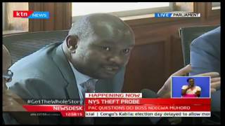 NewsDesk: PAC questions DCI  Ndegwa Muhoro over NYS Theft Probe 05/10/2016